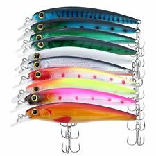 (10 - Pack) Rapala X-Rap Style Crankbait/Jerkbait Fishing Lures Set