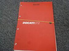 1999 Ducati ST2 Sport Touring Motorcycle Shop Service Repair Manual