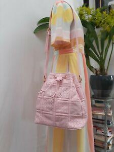 Magnum Quilted  Drawstring Handbag