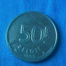 50 Francs Belgien 1992