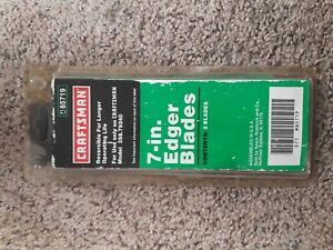 7 In Edger Blades Craftman 85719 Model 358.79240