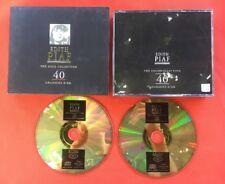 EDITH PIAF 40 CHANSONS D'OR GOLD COLLECTION 1997 TB ÉTAT 2X CD