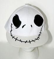 Disney Jack Skeleton Nightmare Skellington Before Christmas Hat Cap New OSFM