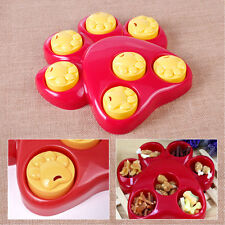 Pet Dog Game: Outward Hound Paw Food Dispensing Hide Scent Puzzle Training Toy