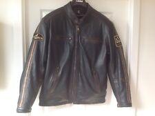 Helstons Oldies Vintage Cafe Racer Retro Stripes Jacket