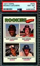 1977 Topps #476 Rookie Catchers Dale Murphy RC PSA 8 NM-MT