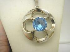 Silver Pendant/Locket Vintage Fine Jewellery (1970s)
