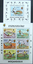 Mozambique -The world football championship-,1 M/Sh.+ 1 S/Sh.1982.MNH**, MZ021