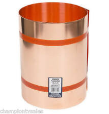 """20"""" x 10', Copper Roof Flashing, 16 OZ, .021"""" Amerimax Home Products 579672"""