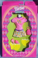 barbie tenue EASTER FASHION AVENUE robe sac paques 1998 Mattel 21371 fleur NRFB