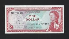 EAST CARIBBEAN STATES $1 Dollar 1965, P-13a Sign: 3 (ND 1968), AU - UNC, QEII
