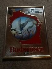 In Wisconsin Budweiser King Of Beers Mirror New