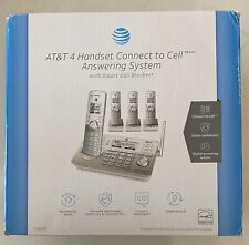 AT&T 4 Handset Connect to Cell Answering System Home Phones TL96487