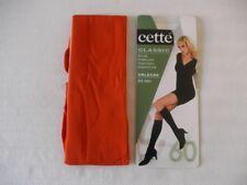 paire de mi bas CETTE 60 den couleur orange
