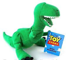 DISNEY~1995 Thinkway Toys~Bean Bag Doll~Toy Story~Rex~Mini Buddy Figure~NEW NOS