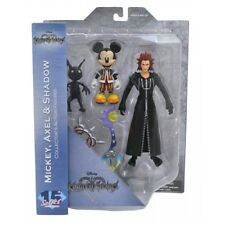 Action Figure Kingdom Hearts Mickey Axel & Shadow Diamond Select 3 Ps4 Keyblade