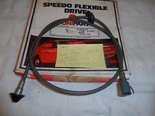 Ford Capri Mk2 1.6 Speedo Câble 74 To 77 Firstline S71BZ17260AA qualité neuf
