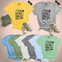 My Dog and I Talk About You Womens T Shirt Dog Lovers UK Plus Size 8-24 Tee Top
