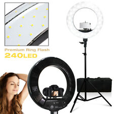 """18"""" 55W Led Smd Dimmable Ring Light Stand Phone Mount Lighting Photo Video"""