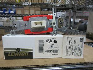 Leviton 1223-2WL White Key Wall Switch 3-Way 20A 120/277V With Key NEW!!! in Box