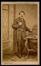 CDV c. 1870 - Homme Ph. Daveluy à Bruges Belgique - 1055