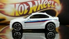 Hot Wheels White 2016 BMW M2  1:64 Tint Windows Side Stripes Coupe