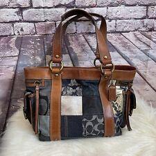 Authentic Coach Bag Patchwork Denim Style B06S-10002