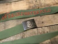 AVENGED SEVENFOLD Green Belt One Size Fits Most 2002