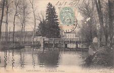 SAINT-PREST 235 le moulin du plateau timbrée 1906