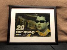 NASCAR Tony Stewart Poster Art - Images In Motion - Hologram Framed