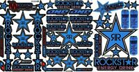 Rc Car Body Shell Stickers Decal Sheet For Tamiya Losi Team Associated Kyosho