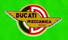 DUCATI MECCANICA Vinyl Decal Sticker ITALY BOLOGNA HOG CAFE RACER INDIAN ARIEL