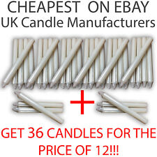 36 CANDLES - buy 18 and get 18 FREE 21cm TALL DINNER EVERYDAY PILLAR 6 5 3 1