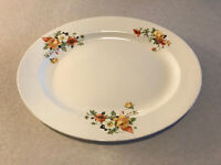 1945– Homer Laughlin China— Kwaker Yellow Rose & Flowers— Oval Serving Platter