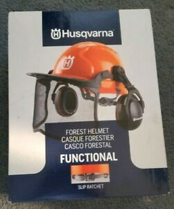 Husqvarna 592752601 Forest Head Protection Helmet - Orange