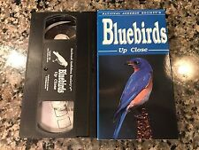 Bluebirds Up Close VHS! National Geographic. Readers Digest. Native Americans.