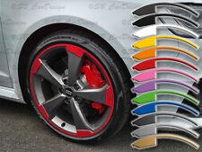 8-8,5x19 Zoll Felgen-Aufkleber f. VW Audi 5-Arm ROTOR 2 Felgen Rim Decal 8V RS3