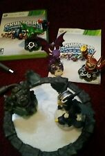Lot of Xbox 360 Skylanders + Portal & Skylanders Spyro's Adventure Game