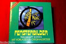 Original 80er Jahre Vorlagen Buch Fensterbilder Heft Vintage Retro Orginalgröße