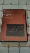 The Great Courses Algebra 1  New/Sealed ~  6 DVD - 36 Lectures ~  No Guidebook