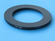 77mm to 52mm Step Down Step-Down Ring Camera Filter Adapter Ring 77mm-52mm