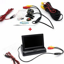 "4.3"" Car Rear View Screen Monitor + Night Vision CCTV Camera Reverse System"