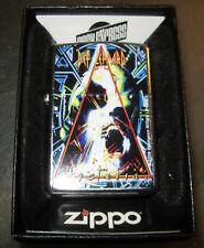 Vintage 2008 NEW SUPER RARE DEF LEPPARD HYSTERIA ZIPPO LIGHTER NEW IN BOX