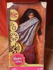 BARBIE IN INDIA MATTEL P8228 EDIZIONE 2008 per i tre anni, nuova in scatola