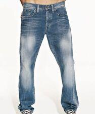 "G-Star Raw Mens Boys 3301 Straight Jeans 26"" x 34"" BNWT Master Denim Cote Wash"