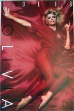 "Olivia Newton-John ""Soul Kiss"" Poster / Printed in 1985"