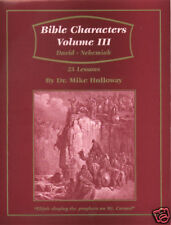 Sunday School Lessons  - Bible Characters Vol 3  KJV