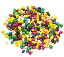 200 X 6 Mm de mezcla de color de madera arroz perlas Joyería Artesanal Molduras Q45