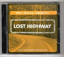(GY343) Various Artists, Lost Highway Music Sampler - 2002 CD