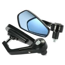 Pair of Motorcycle End Bar Rearview Mirror Adjustable Side View Mirrors F1c3